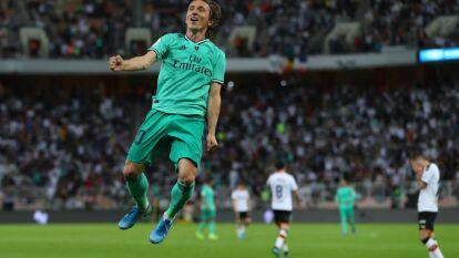Con goles de Toni Kroos, Isco y Luka Modric, el Real Madrid vence al Valencia y consigue su boleto a la final de la Supercopa 2020.