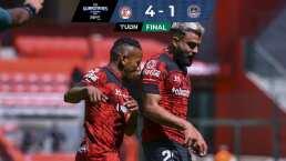 Toluca hace que Mazatlán pase un infierno y lo derrota 4-1