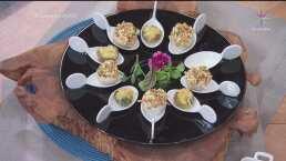 RECETA: Champiñones rellenos de surimi y pechuga de pavo