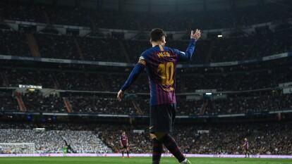 Lionel Messi, uno de los jugadores más importantes en la historia del futbol, es el máximo anotador de los Clásicos entre Barcelona y Real Madrid con 26 tantos.