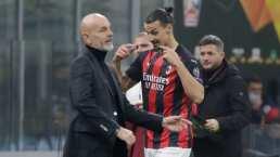 Zlatan 'enloquece' y se va el invicto del Milan