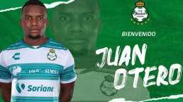 Desde Francia para Santos llega Juan Otero
