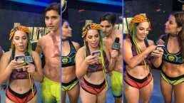 Lizbeth Rodríguez revisó el celular de Christian Estrada y así reaccionó Ferka con lo que descubrió