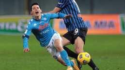 'Chucky' Lozano sigue lesionado y no fue convocado para duelo ante Milan