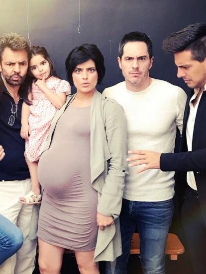 La familia Derbez atrae miradas por ser muy atractivos y activos en redes sociales