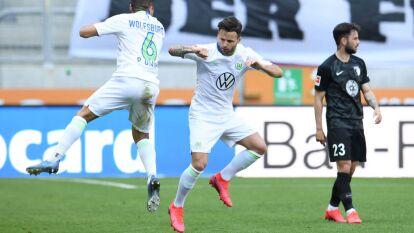Augsburgo 1-2 Wolfsburgo