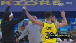 ¡Final cardiaco! Bucks 121-122 Warriors, festival de triples