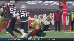 ¡Lucen dominantes los 49ers! Juszczyk consigue un touchdown de 4 yardas
