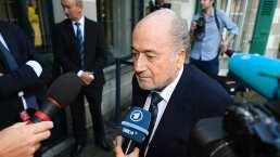 El expresidente de FIFA, Joseph Blatter, está hospitalizado