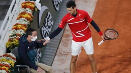 Nuevo pelotazo de Novak Djokovic a juez