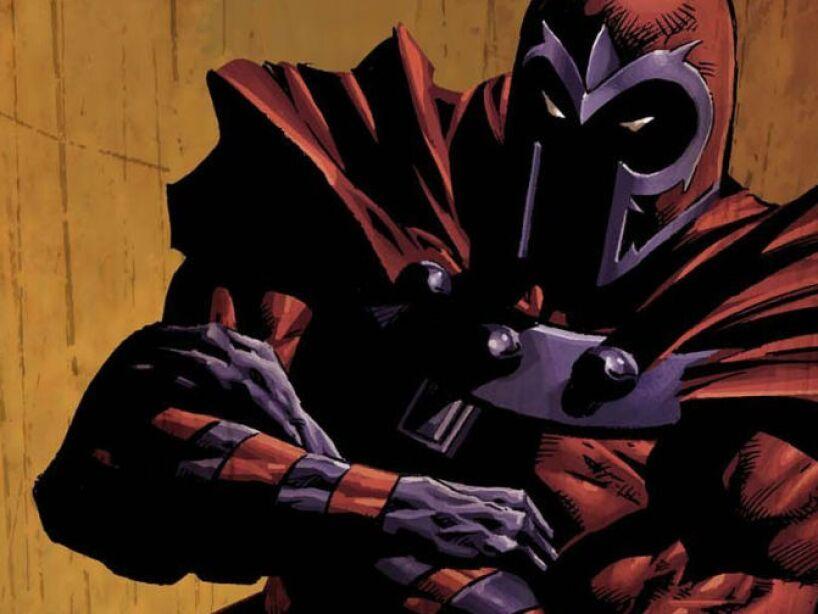 2. Erik Lehnsherr, Magneto (The X-Men): Una mente maestra. Un experto en manipulación genética e ingeniería.