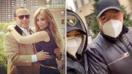 'Tenemos que ver la Navidad neoyorquina': Thalía y Tommy Mottola paseando por las calles de Nueva York