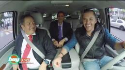 Car Pool con Raúl y Toñita al estilo de Sammy y Miguel Luis
