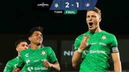 Santos vence a San Luis y desbanca al Guadalajara en la tabla