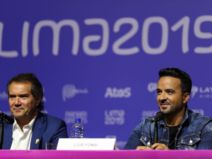 Luis Fonsi Press Conference in Lima