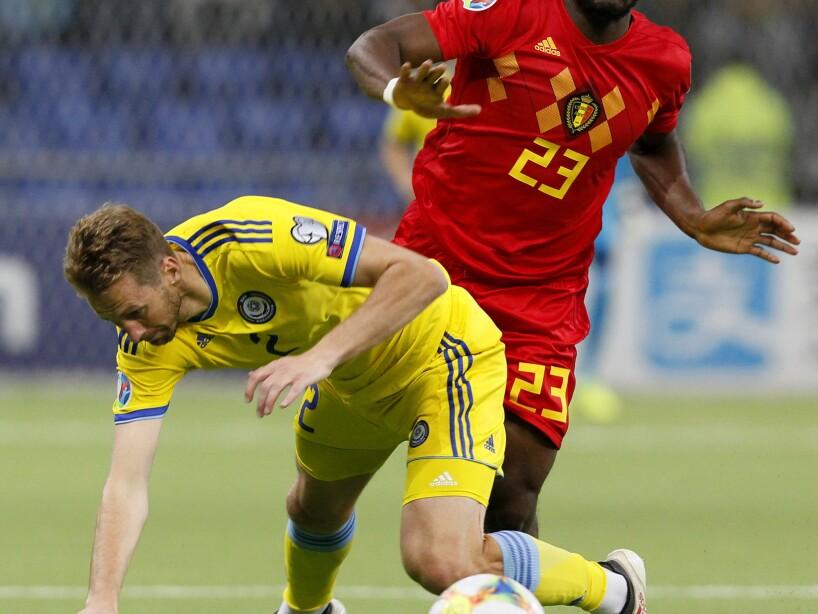 Kazakhstan Belgium Euro 2020 Soccer