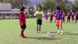 Vítor vs. Albertano en un penal de fútbol