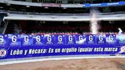 Cruz Azul se siente exclusivo por empatar marca de Necaxa y León