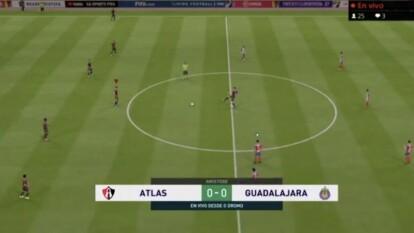 Fernando Beltrán se puso las ìlas en el segundo tiempo y consiguió el gol del empate para dividir los puntos.