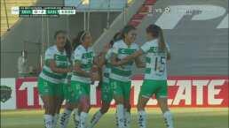 ¡Golazo! Alexxandra Ramírez se luce con el 0-2 para Santos Femenil