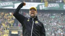 ¡Se emborrachó! Klopp revela cómo festejó la Bundesliga del Dortmund