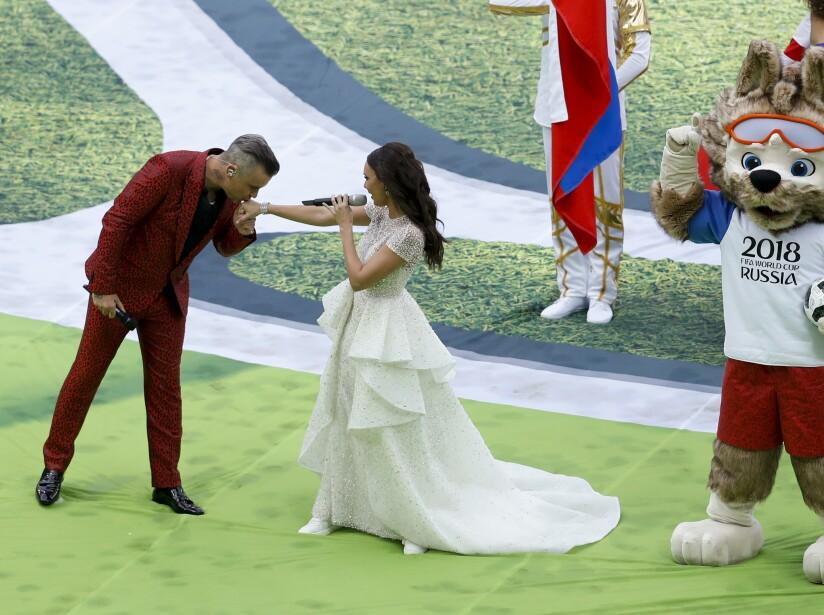 Robbie Williams le pone sabor al Mundial Rusia 2018