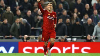 Con solitario gol de Roberto Firmino al minuto 38, Liverpool gana y extiende su poderio en la Premier League.