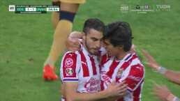 ¡No le festeja a su ex! Mayorga firma la voltereta 2-1 ante Pumas