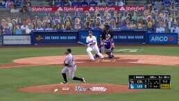 Dodgers enrachados vencen a Rockies de Colorado