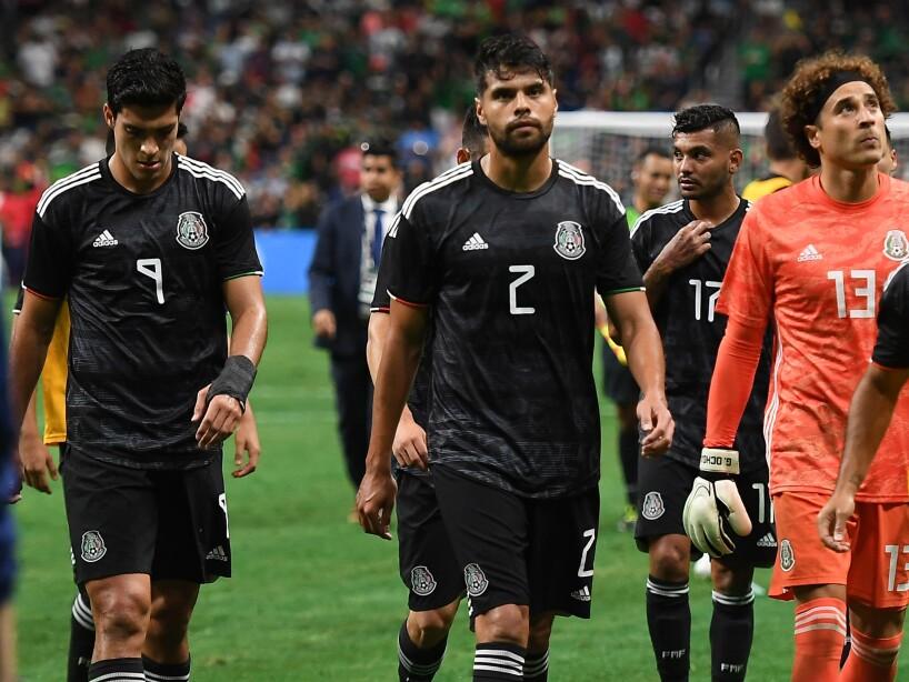 Cae México 4-0 vs Argentina
