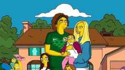 Guillermo Ochoa se convierte en un Simpson
