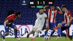Var le anula gol a Messi y la victoria a Argentina