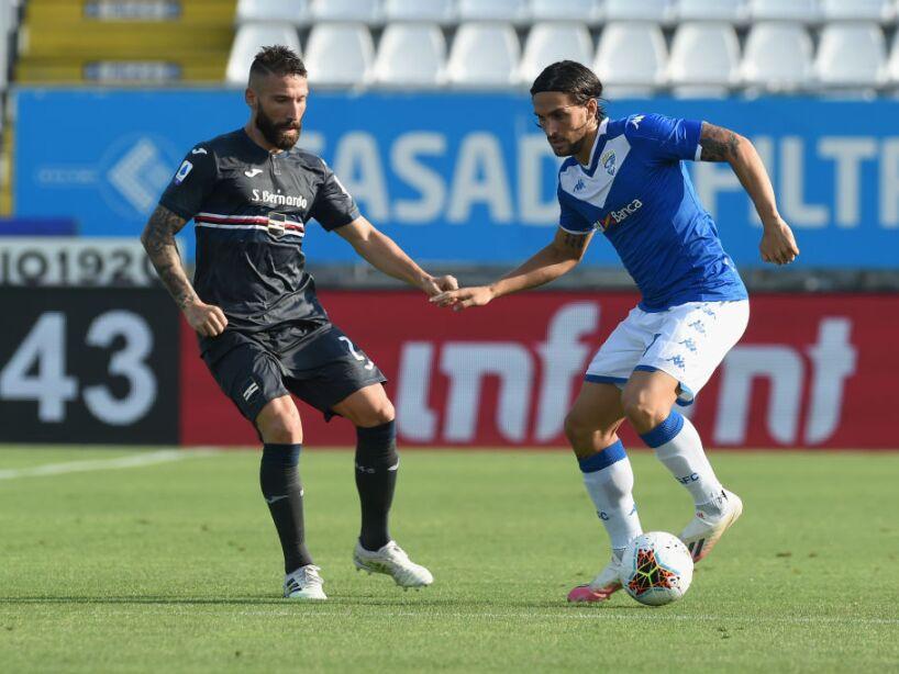 Brescia Calcio v UC Sampdoria - Serie A
