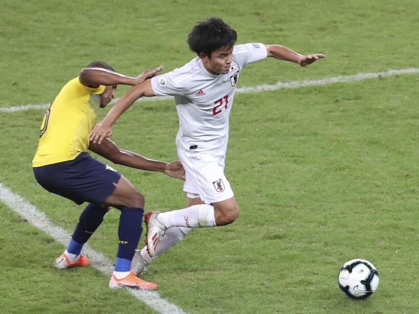 Brazil Soccer Copa America Ecuador Japan