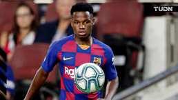 Ansu Fati entrenó con normalidad y podría estar ante Sevilla