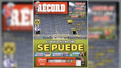 El mundo deportivo extraña la actividaad y las portadas de los diarios más imporotantes en el mundo ven una luz al final del túnel.