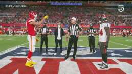 ¡El volado lo gana Chiefs y decide recibir en la segunda mitad!