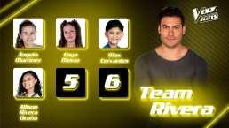 La competencia se intensifica con los semifinalistas del Team Rivera