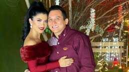 Edwin Luna y Kimberly Flores presumen su fiesta navideña con La Trakalosa