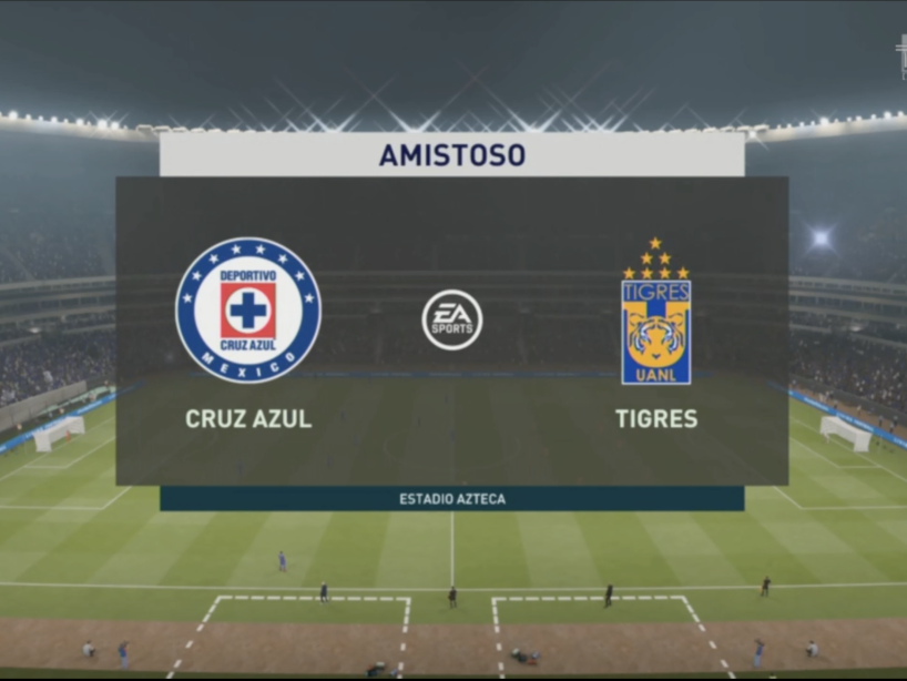 eLiga MX, Cruz Azul vs Tigres, 2.png