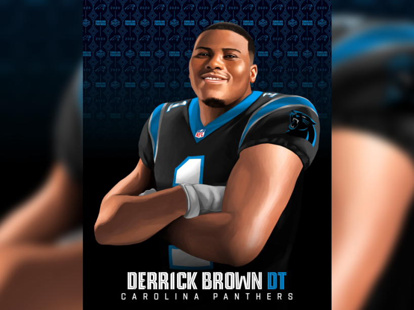 Derrick Brown, NFL Draft 2.png