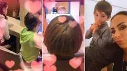 ¡Como escuelita!: Así es cómo los hijos de Inés Gómez Mont toman sus clases en cuarentena