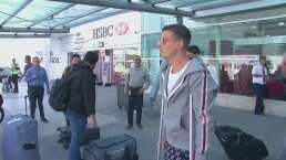 Nicolás Benedetti llega a Guadalajara para ser operado