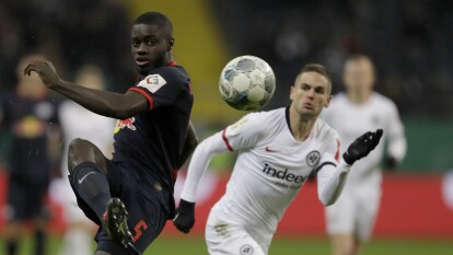 Eintracht Frankfurt 3-1 RB Leipzig.