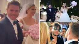 'Canelo' Álvarez tira 'la casa por la ventana' y celebra su boda religiosa a lo grande
