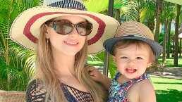 'Cosa que no es normal en un bebé': Mira lo que Martina, hija de Ingrid Martz, prefirió hacer en lugar de ir a la alberca
