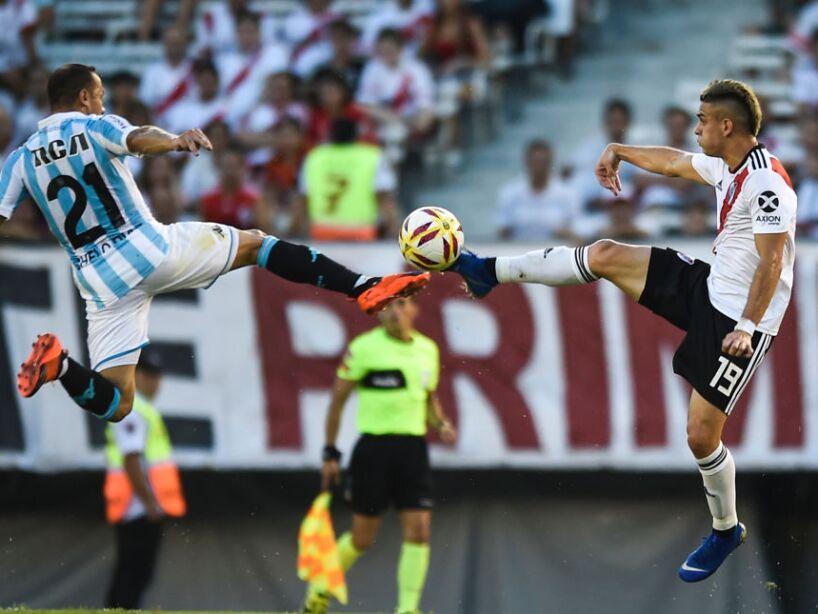 River Plate v Racing Club - Superliga 2018/19