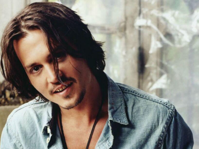 1. Johnny Depp: Con sólo verlo nos damos cuenta que nunca fue un fiel amante de la ducha.