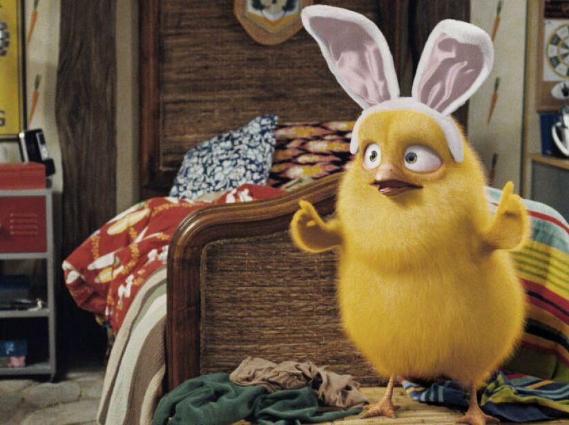 7. Hop: Un pollo llamado Carlos hace todo lo posible con tal de convertirse en el próximo Conejo de Pascua.