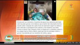 ¡Julio Preciado libra exitosa cirugía!